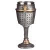 kielich dekoracyjny - Średniowieczny Hełm Rycerski i Kolczuga