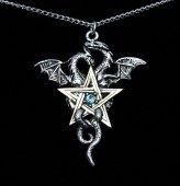 naszyjnik Dragonstar, seria: Forbidden - talizman: Równowaga i Stabilność