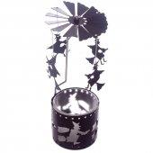 Czarownice - karuzelka napędzana ciepłem świeczki