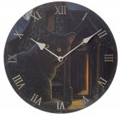 zegar - Czarny Kot