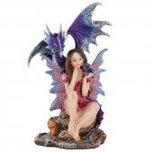 Duch Lasu Elf i Smok - figurka wys.19,5cm
