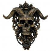 Rogata Czaszka Diabolus - kołatka na drzwi