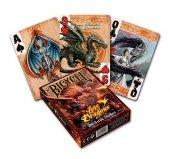 Age of Dragons - klasyczne karty do gry ze smokami, projektu Anne Stokes