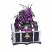 Kufer i Fioletowy Smok - szkatułka