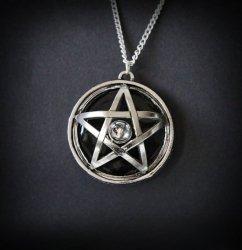 Astral Pentagram, seria: Pentagramy - naszyjnik