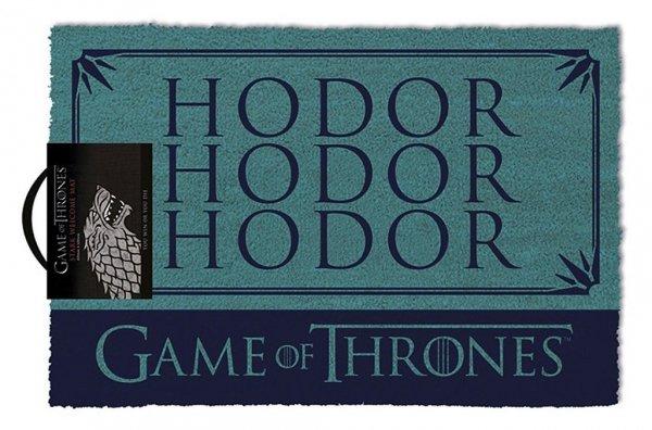 """Gra o Tron wycieraczka """"Hodor"""" - Game of Thrones"""