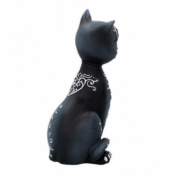 Mystic Kitty - figurka magicznego, czarnego kota ouija