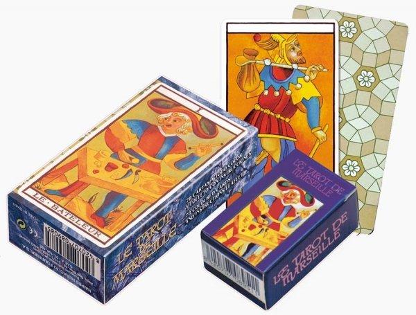 Tarot marsylski - talia 78 kart tarota dla początkujących