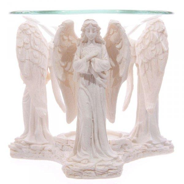 kominek do aromaterapii do podgrzewania olejków eterycznych - Trzy Anioły