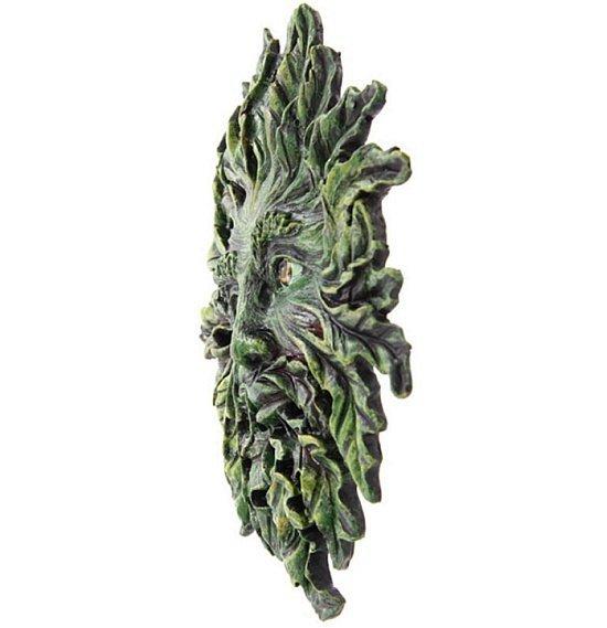ozdoba na ścianę green man zielony człowiek wicca magiczne prezenty
