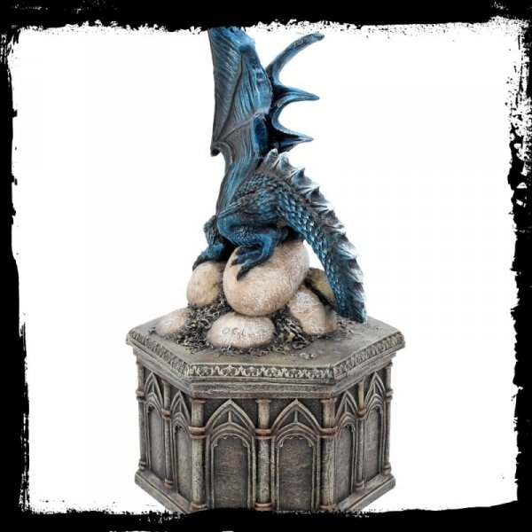 Roost of Cryondrix - duża szkatułka na biżuterię ze smoczycą