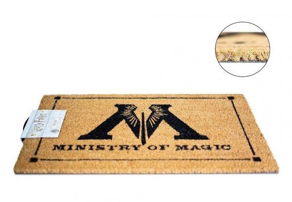 """wycieraczka z nadrukiem """"Ministry of Magic"""" Ministerstwo Magii, gadżet z Harry'ego Pottera"""