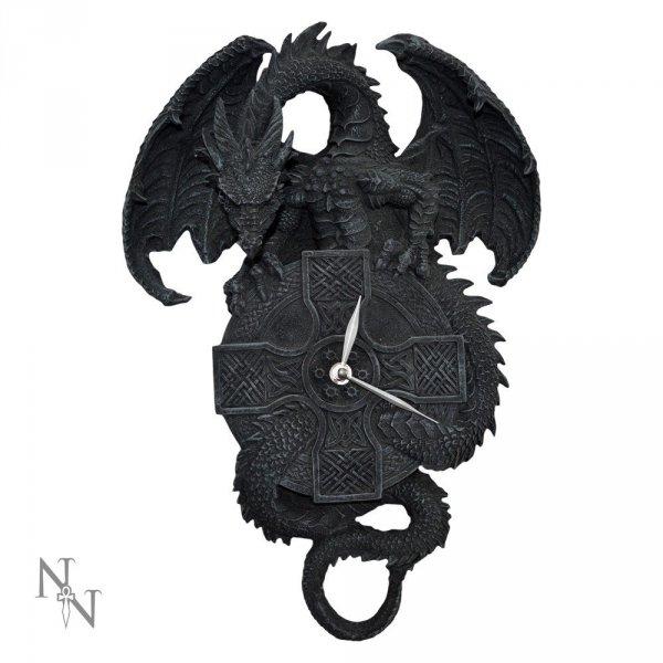 zegar ze smokiem celtycki smok prezenty ze smokami smocze gadżety w kształcie smoka