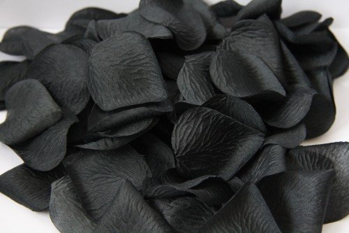 Płatki czarnej róży dekoracyjne 100szt