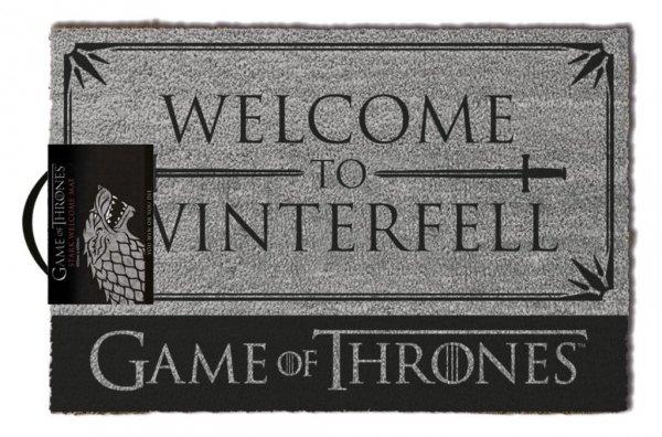 """Gra o Tron """"Welcome to Winterfell"""" Game of Thrones - wycieraczka"""