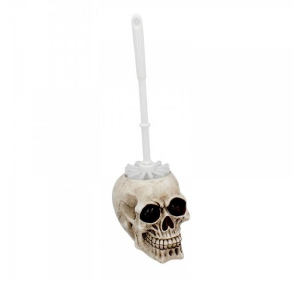 szczotka do WC z czaszką