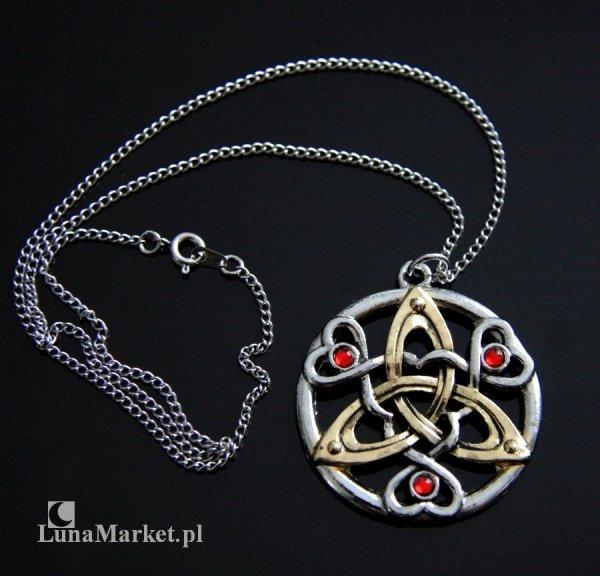 Czar Wojownika - magiczna biżuteria, celtycki talizman Zacięta Determinacja