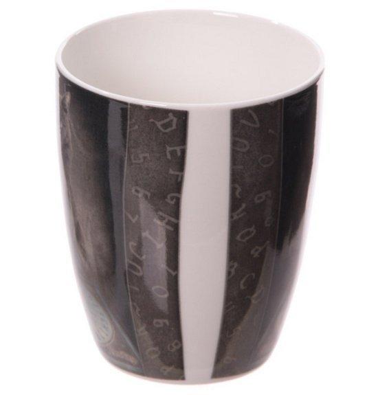 Kot Medium - porcelanowy kubek z nadrukiem projekt: Lisa Parker