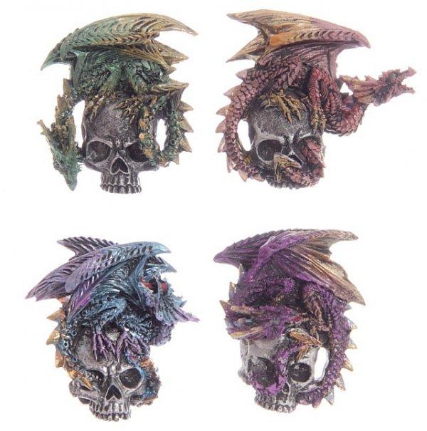 magnesy w kształcie smoków - gadżety w stylu gothic fantasy