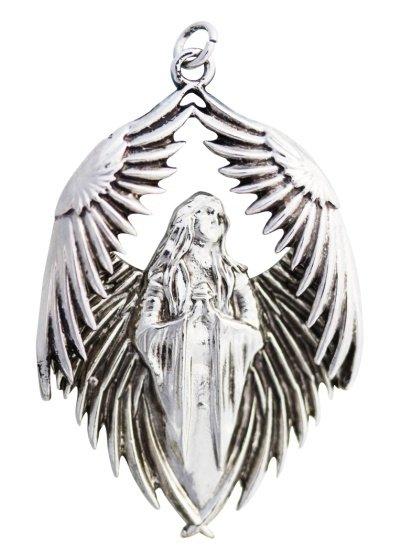 gotycki naszyjnik Prayer for the Fallen - Anioł, z serii Carpe Noctum Anne Stokes