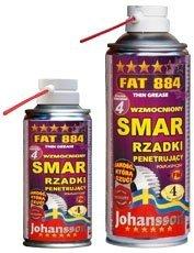Wzmocniony smar penetrujący rzadki JOHANSSON FAT 884 spray 400ml