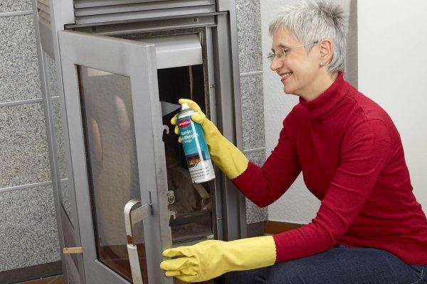 Preparat do czyszczenia szyb w kominkach i piecykach CARAMBA 500ml