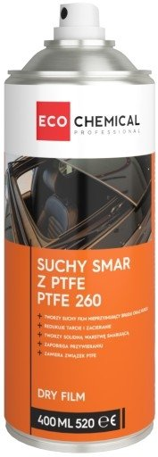 PTFE 260 suchy smar DRY LUBE Ecochemical