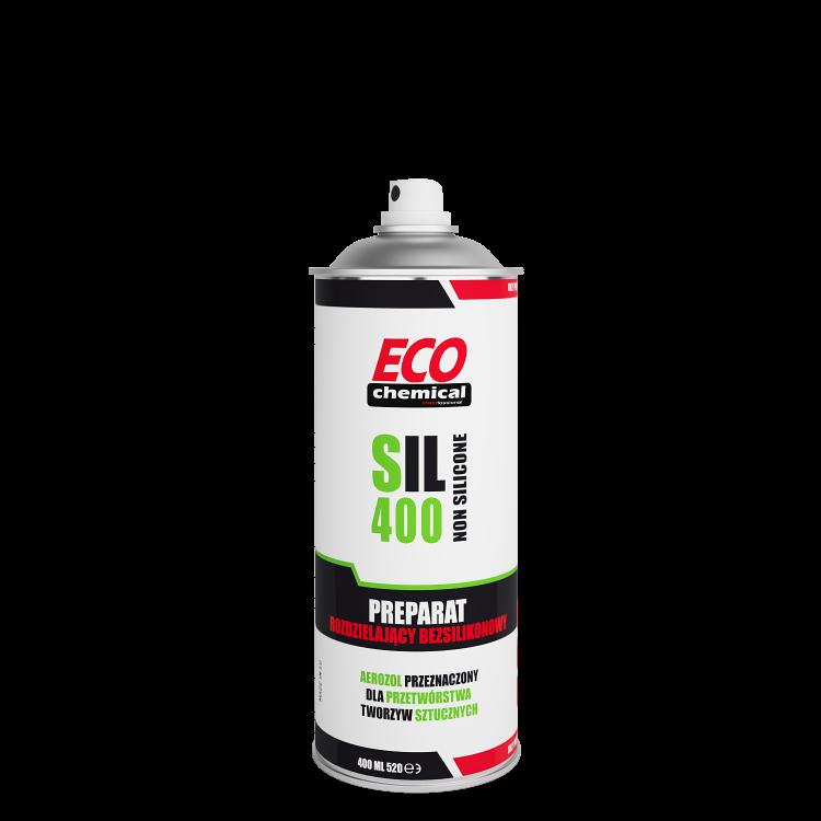 SIL 400 Rozdzielacz bezsilikonowy do form wtryskowych ECOCHEMICAL 400ml