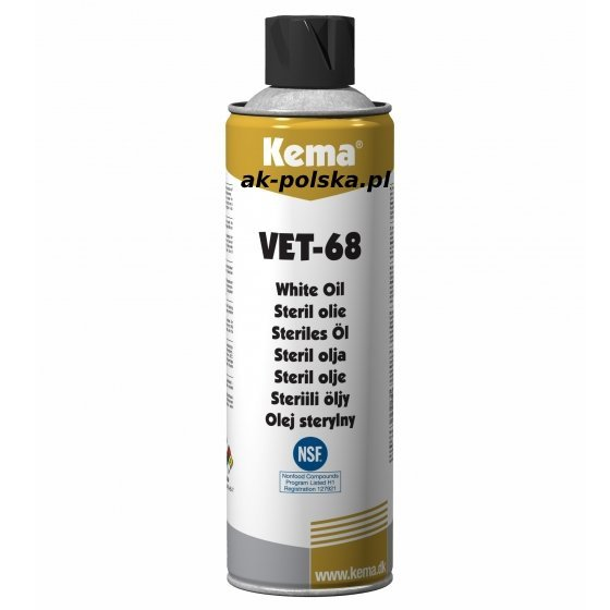 VET-68 Olej sterylny 500ml Kema NSF-3H/H1