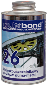 Klej rozpuszczalnikowy guma-metal Multibond 26