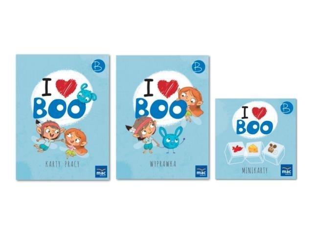I love Boo. Język angielski poziom B. Pakiet MAC