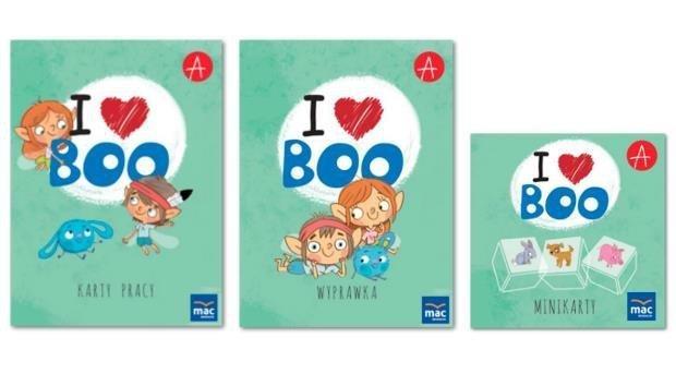 I love Boo. Język angielski poziom A. Pakiet MAC