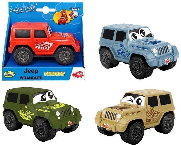 Happy Sgueezy Jeep Wrangler, 4 rodzaje
