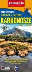 Mapa turystyczna - Karkonosze 1:25 000