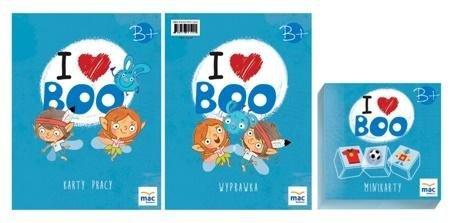 I love Boo. Język angielski poziom B+. Pakiet MAC