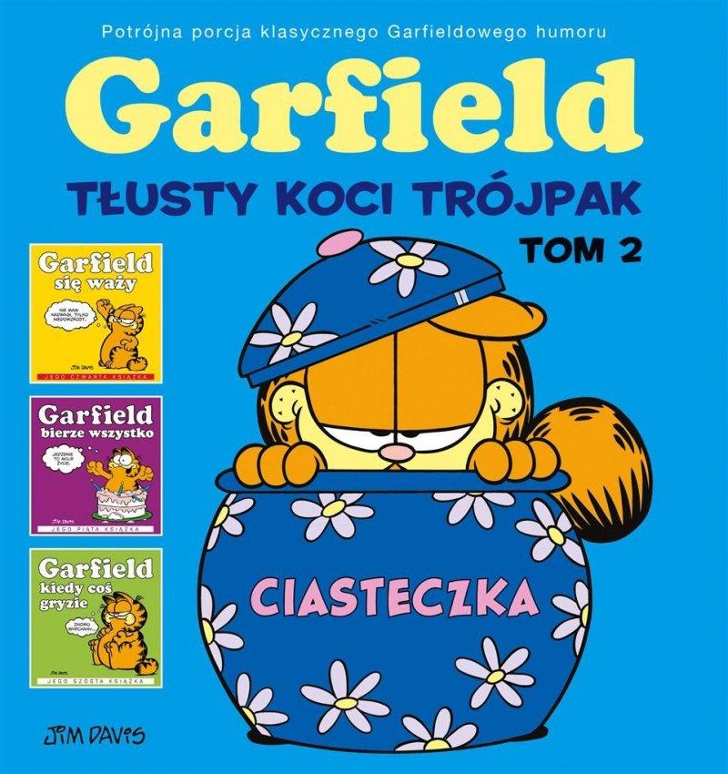 Garfield. Tłusty koci trójpak T.2 Ciasteczka
