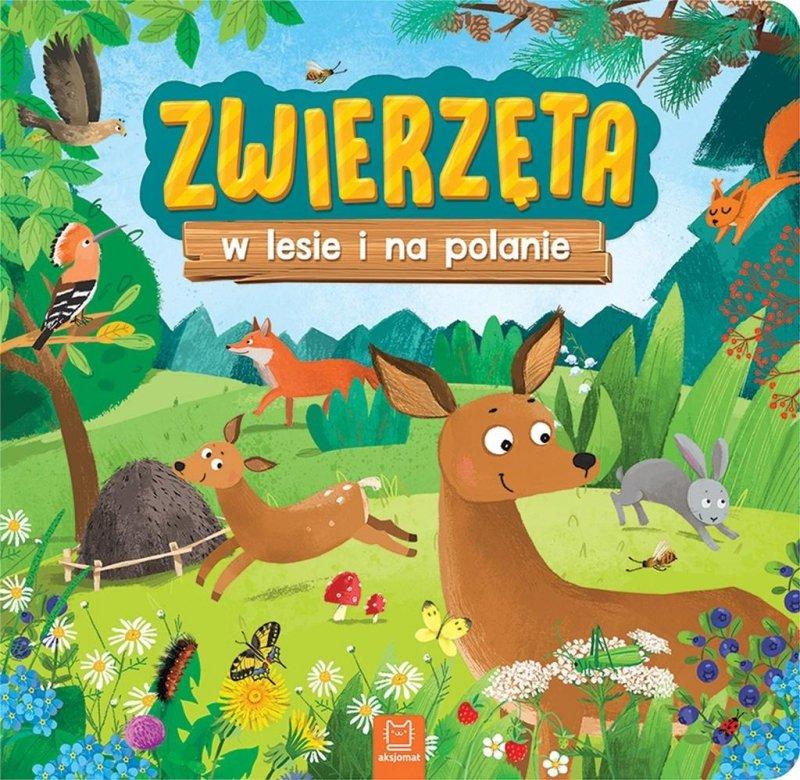 Zwierzęta w lesie i na polanie