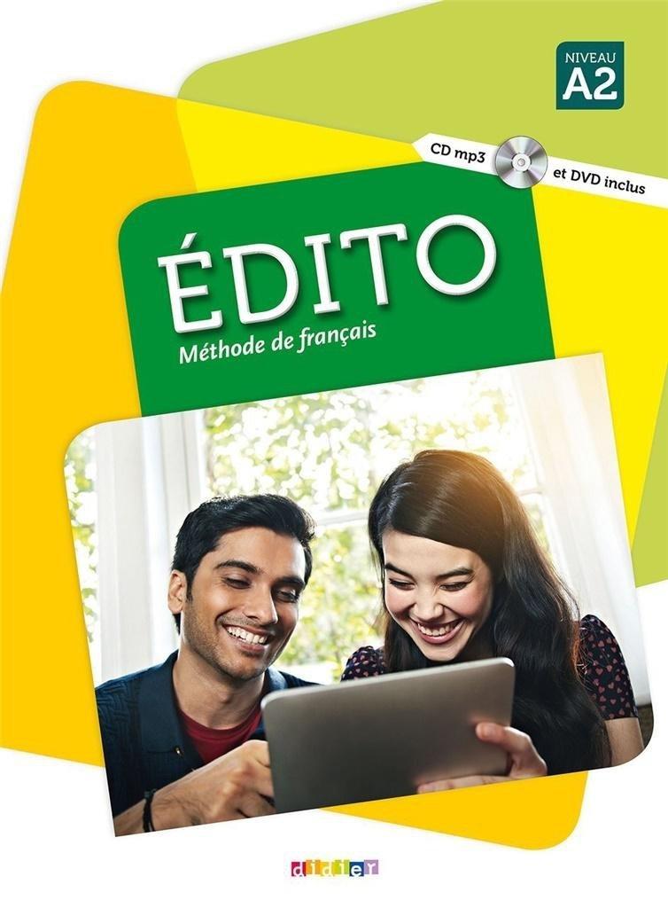 Edito A2. Podręcznik + CD + DVD