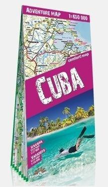 Adventure map Cuba 1:650 000