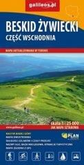 Mapa sztabowa - Beskid Żywiecki- wschód 1:25 000