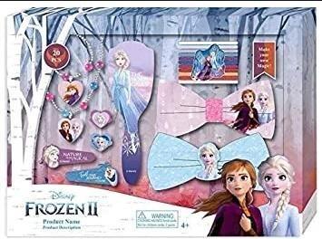 Zestaw biżuterii i akcesoriów do włosów Frozen 2