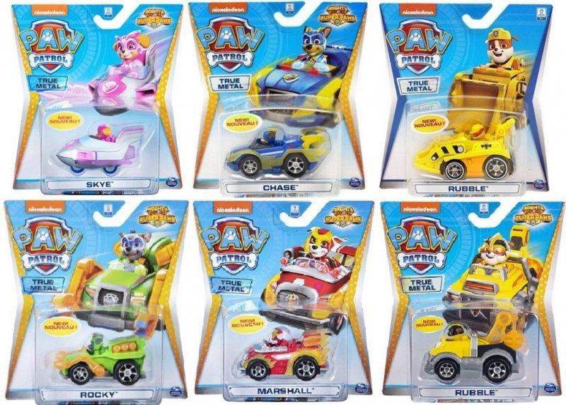 Psi Patrol Pojazd z figurką mix