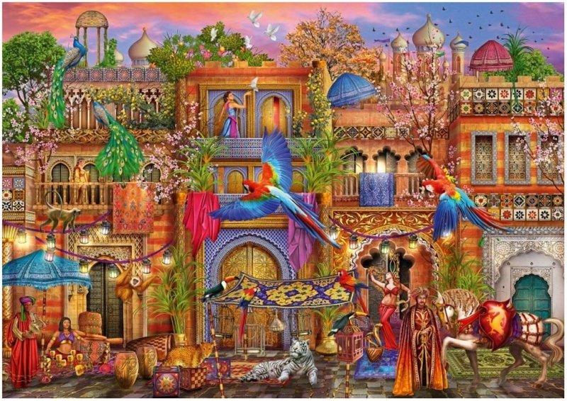 Puzzle 1000 Arabska ulica Ciro Marchetti