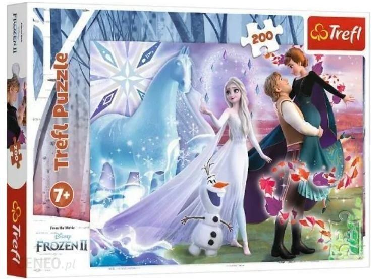 Puzzle 200 Magiczny świat sióstr TREFL