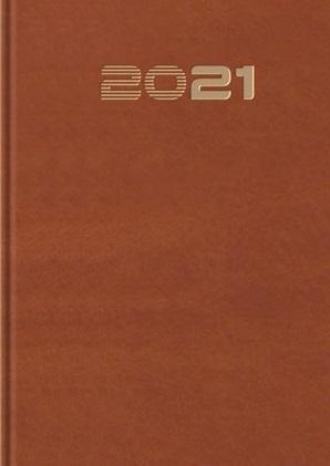 Terminarz 2021 Standard B6 brązowy