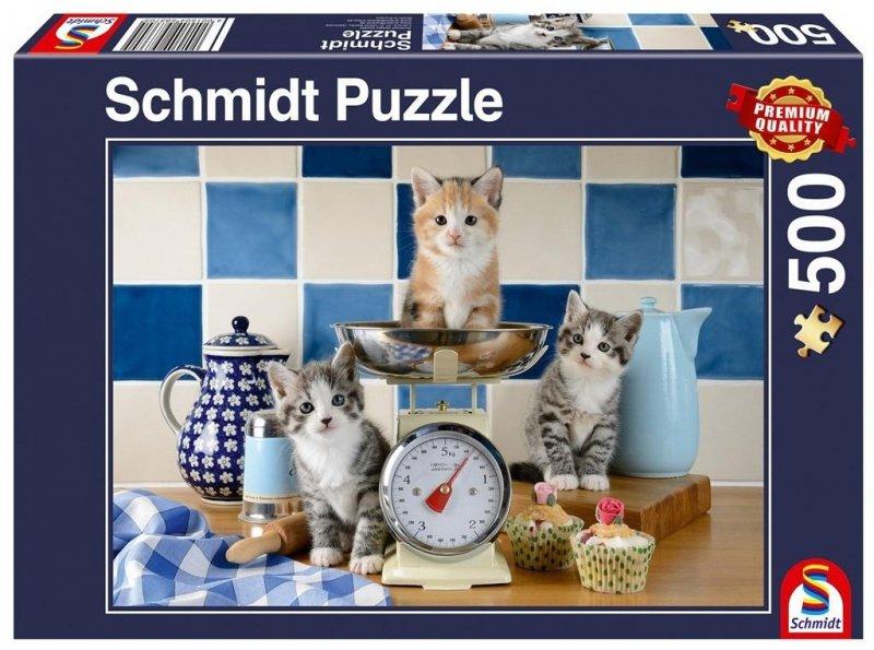 Puzzle PQ 500 Koty w kuchni G3