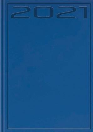 Terminarz 2021 B7 Print niebieski