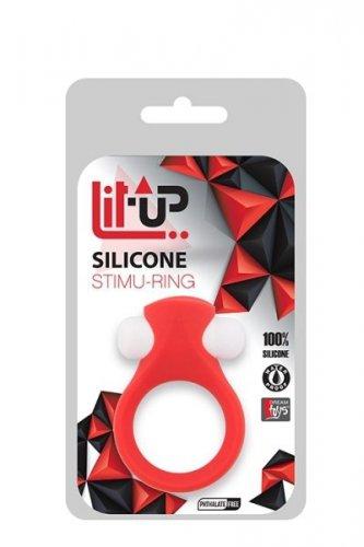 Pierścień-LIT-UP SILICONE STIMU RING 2 RED