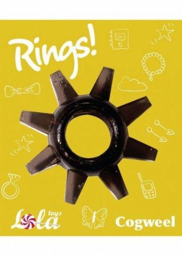 Pierścień-Cockring Rings Cogweel black