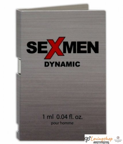 Feromony-SEXMEN DYNAMIC 1ml.